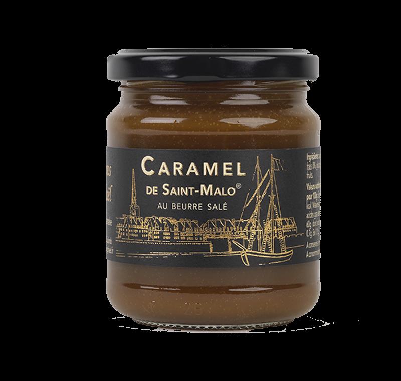 Confiture caramel beurre sale maison artisanal bretagne 1