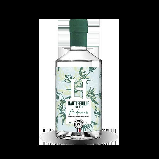 Distillerie hautefeuille gin audacieux
