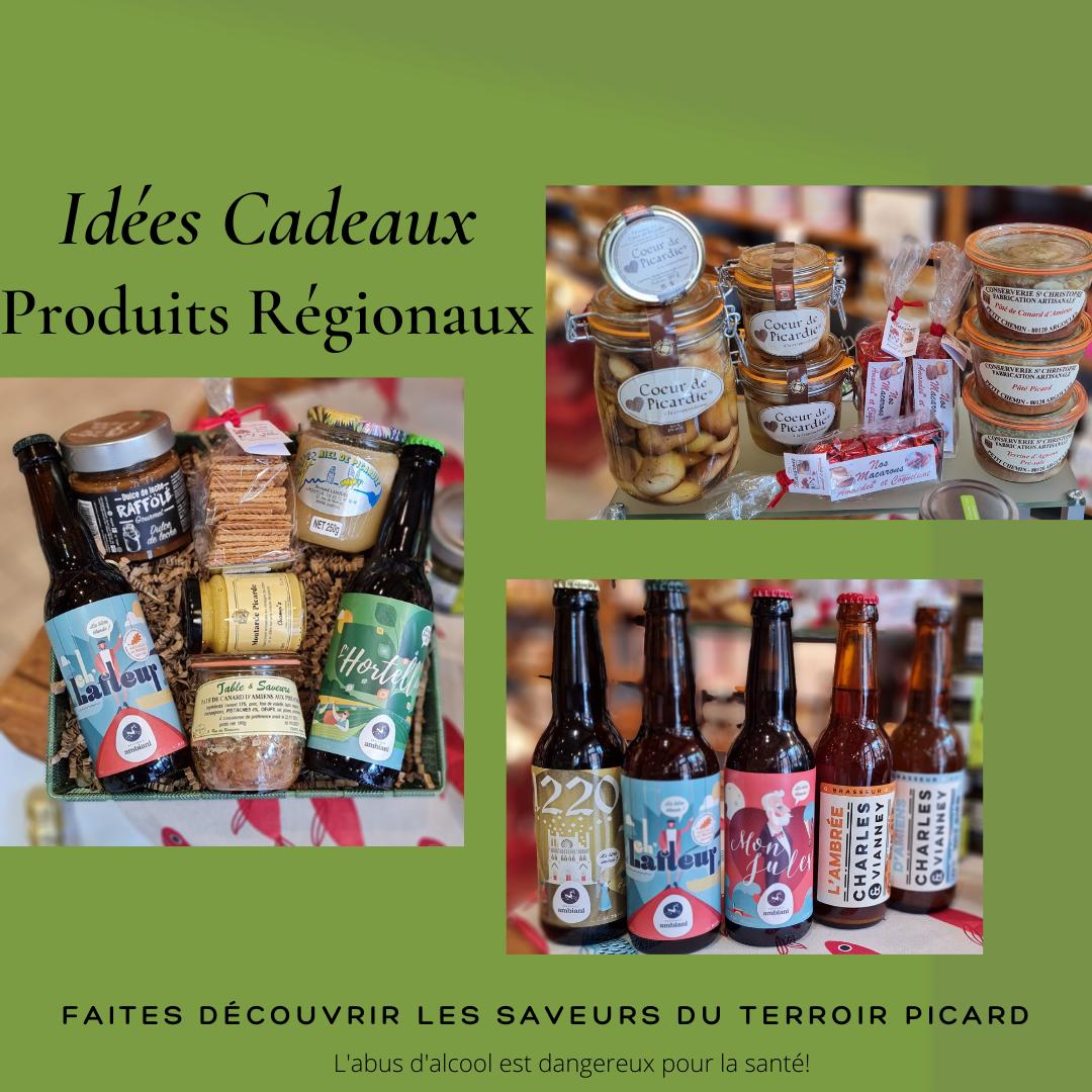 Idees cageaux produits regionaux