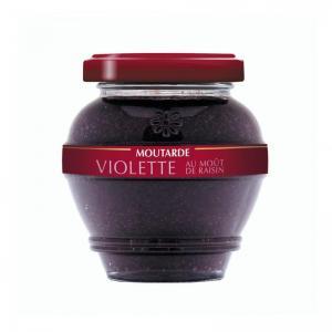 Moutardes aromatiques moutarde violette au mout de raisin mviodtr