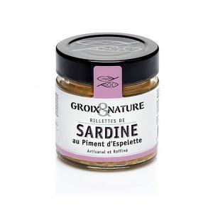 Rillettes de sardines au piment espelette
